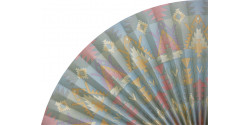 L228 Pleated Decorative Fan Clearance