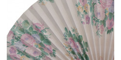 L366 Pleated Decorative Fan Clearance