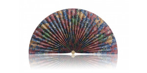 L130 Pleated Decorative Fan