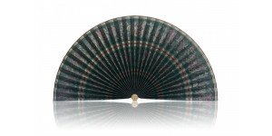 L169 Pleated Decorative Fan