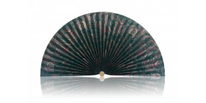 L169b Pleated Decorative Fan