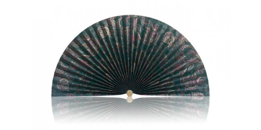 L169b Pleated Decorative Fan Clearance