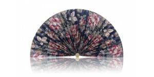 L171 Pleated Decorative Fan