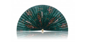 L183 Pleated Decorative Fan