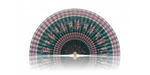 L193 Pleated Decorative Fan