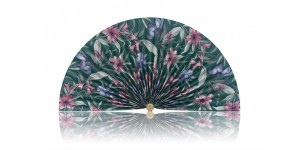 L194 Pleated Decorative Fan