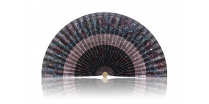 L196 Pleated Decorative Fan