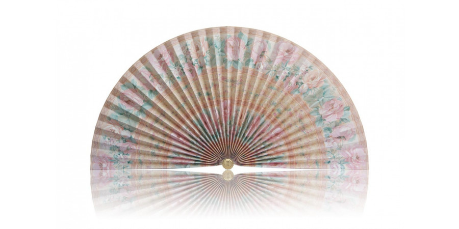 L198 Pleated Decorative Fan Clearance