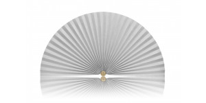 L205 Pleated Decorative Fan