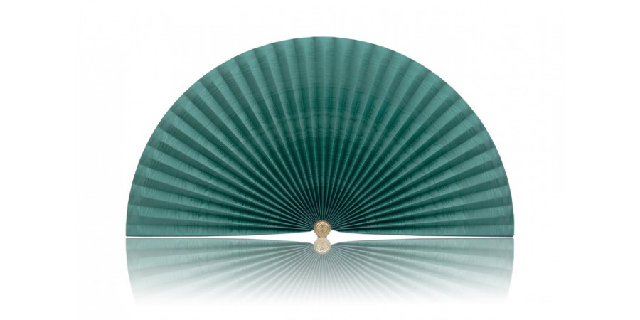 L208 Pleated Decorative Fan