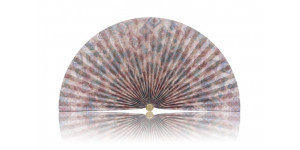 L221 Pleated Decorative Fan