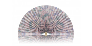 L223 Pleated Decorative Fan