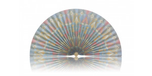 L228 Pleated Decorative Fan