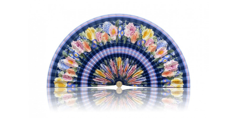 L252 Pleated Decorative Fan