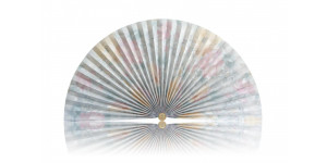 L303 Pleated Decorative Fan