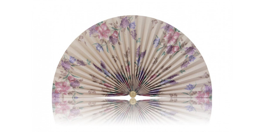 L304 Pleated Decorative Fan
