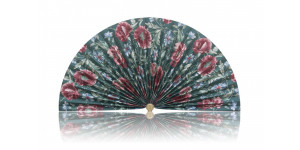 L307 Pleated Decorative Fan