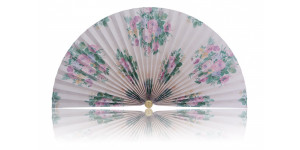 L366 Pleated Decorative Fan