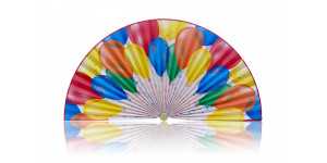 L370 Pleated Decorative Fan
