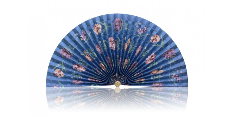 L375 Pleated Decorative Fan