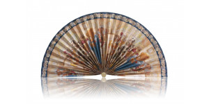 L381 Pleated Decorative Fan