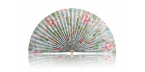 L384 Pleated Decorative Fan