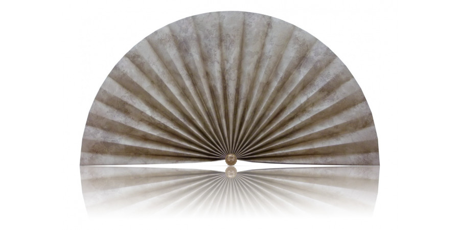 L399 Pleated Decorative Fan