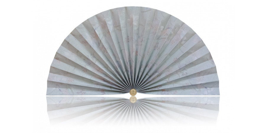 L405 Pleated Decorative Fan