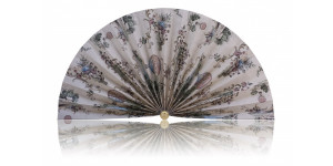 L406 Pleated Decorative Fan