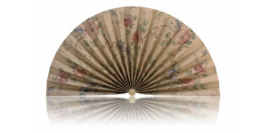 L412 Pleated Decorative Fan