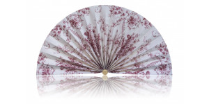 L418 Pleated Decorative Fan