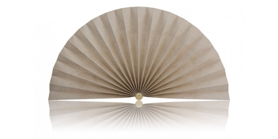 L419 Pleated Decorative Fan