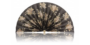 L436 Pleated Decorative Fan