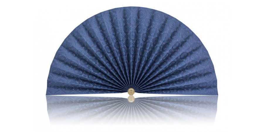 L438 Pleated Decorative Fan
