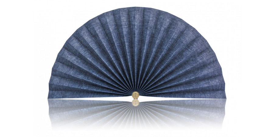 L439 Pleated Decorative Fan