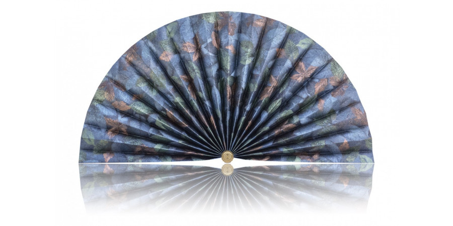 L441 Pleated Decorative Fan