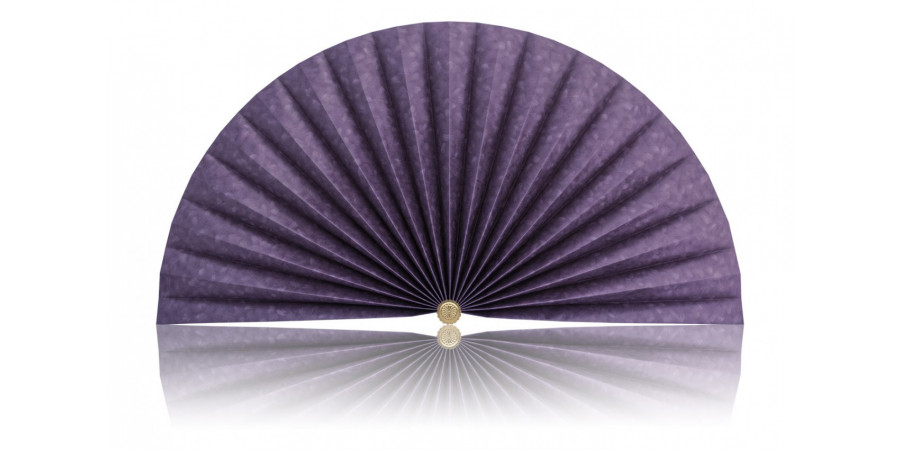 L448 Pleated Decorative Fan