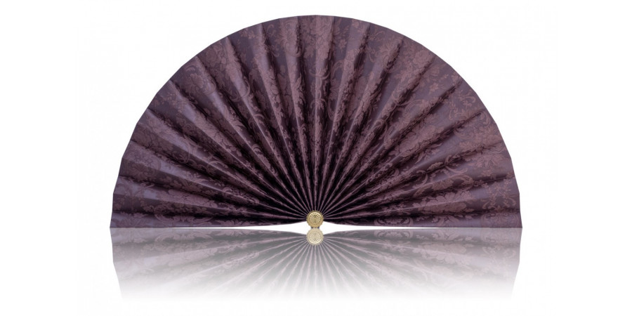 L449 Pleated Decorative Fan