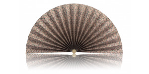 L455 Pleated Decorative Fan