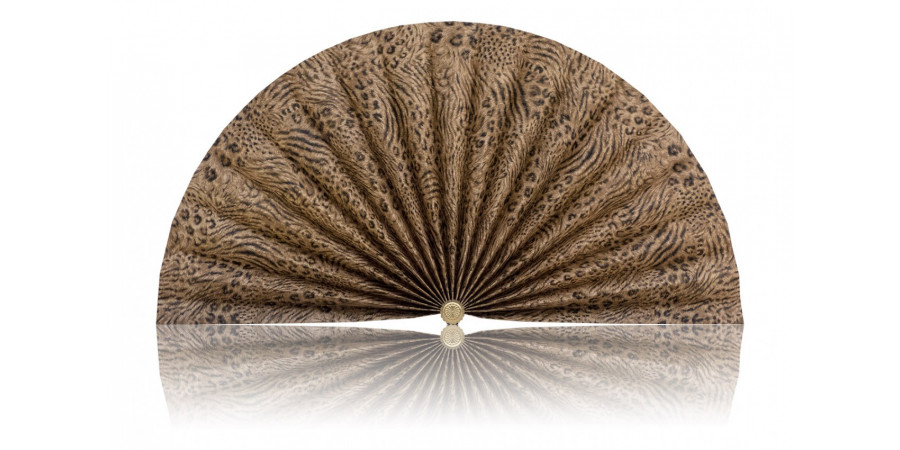 L458 Pleated Decorative Fan