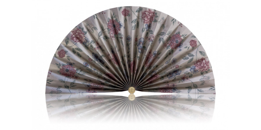 L460 Pleated Decorative Fan
