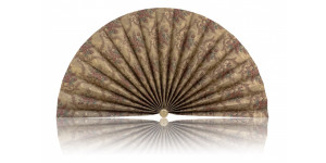 L461 Pleated Decorative Fan
