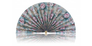 L467 Pleated Decorative Fan
