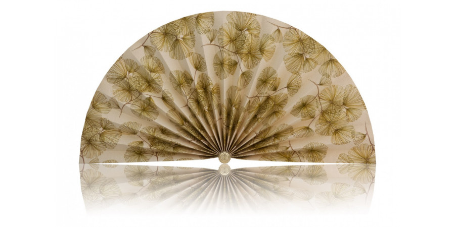 L468 Pleated Decorative Fan