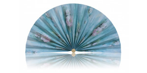L469 Pleated Decorative Fan