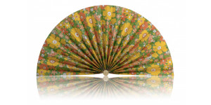 L472 Pleated Decorative Fan