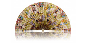 L474 Pleated Decorative Fan