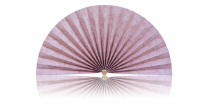 L476 Pleated Decorative Fan