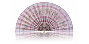 L477 Pleated Decorative Fan