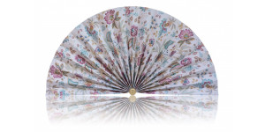 L479 Pleated Decorative Fan